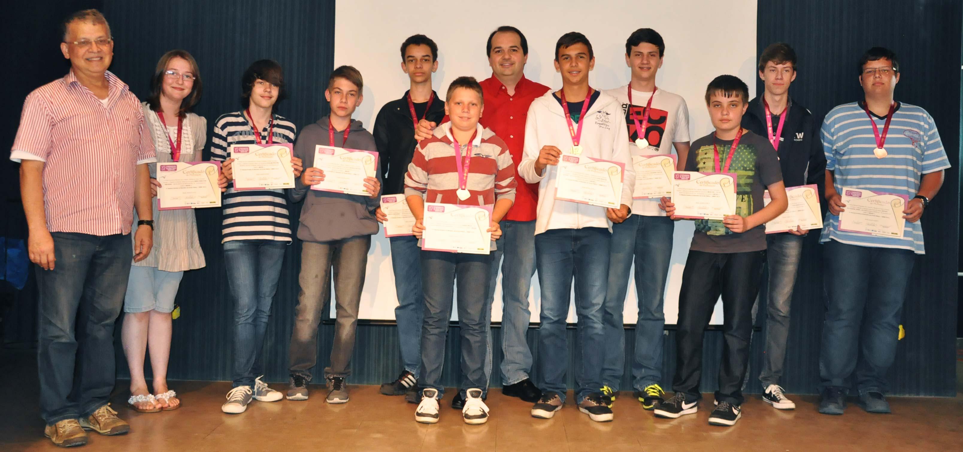 udesc-joinville-entrega-medalhas-a-vencedores-da-obmep